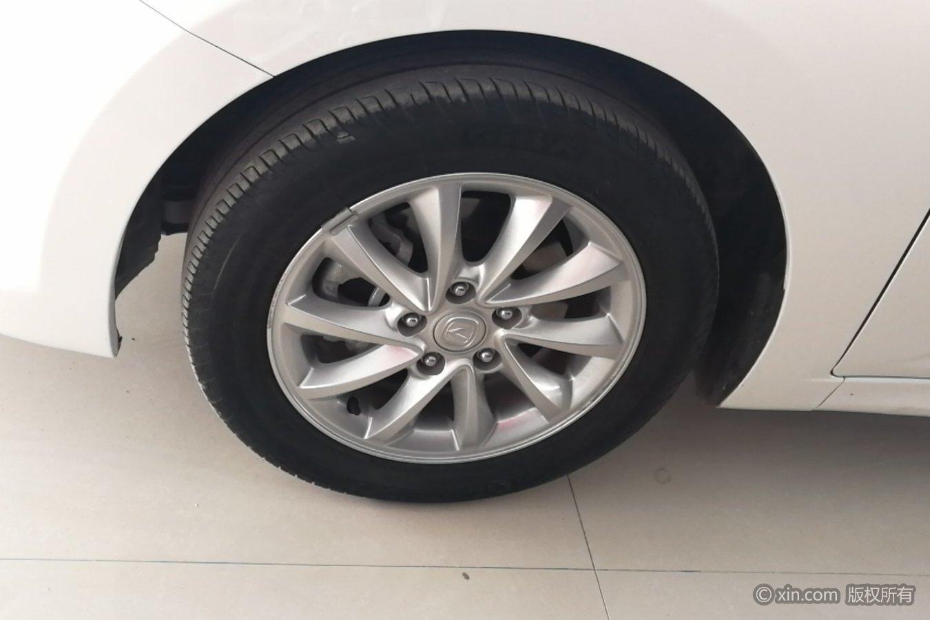 长安悦翔v7左前轮胎长安欧力威14图片