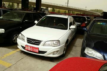 现代 伊兰特三厢 2011款 1.6 手动 CNG油气混合