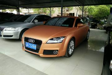 奥迪 TT 2013款 2.0T 自动 Coupe 45TFSI彩色梦幻版
