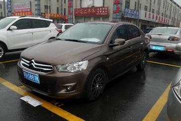 雪铁龙 爱丽舍三厢 2014款 1.6 手动 时尚型