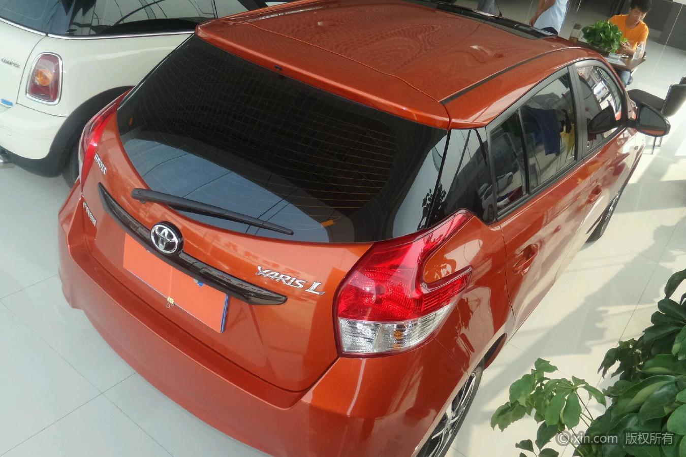 丰田 致炫 2015款 1.5 自动 橙色限量版