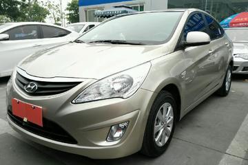现代 瑞纳三厢 2010款 1.4 手动 GS舒适型
