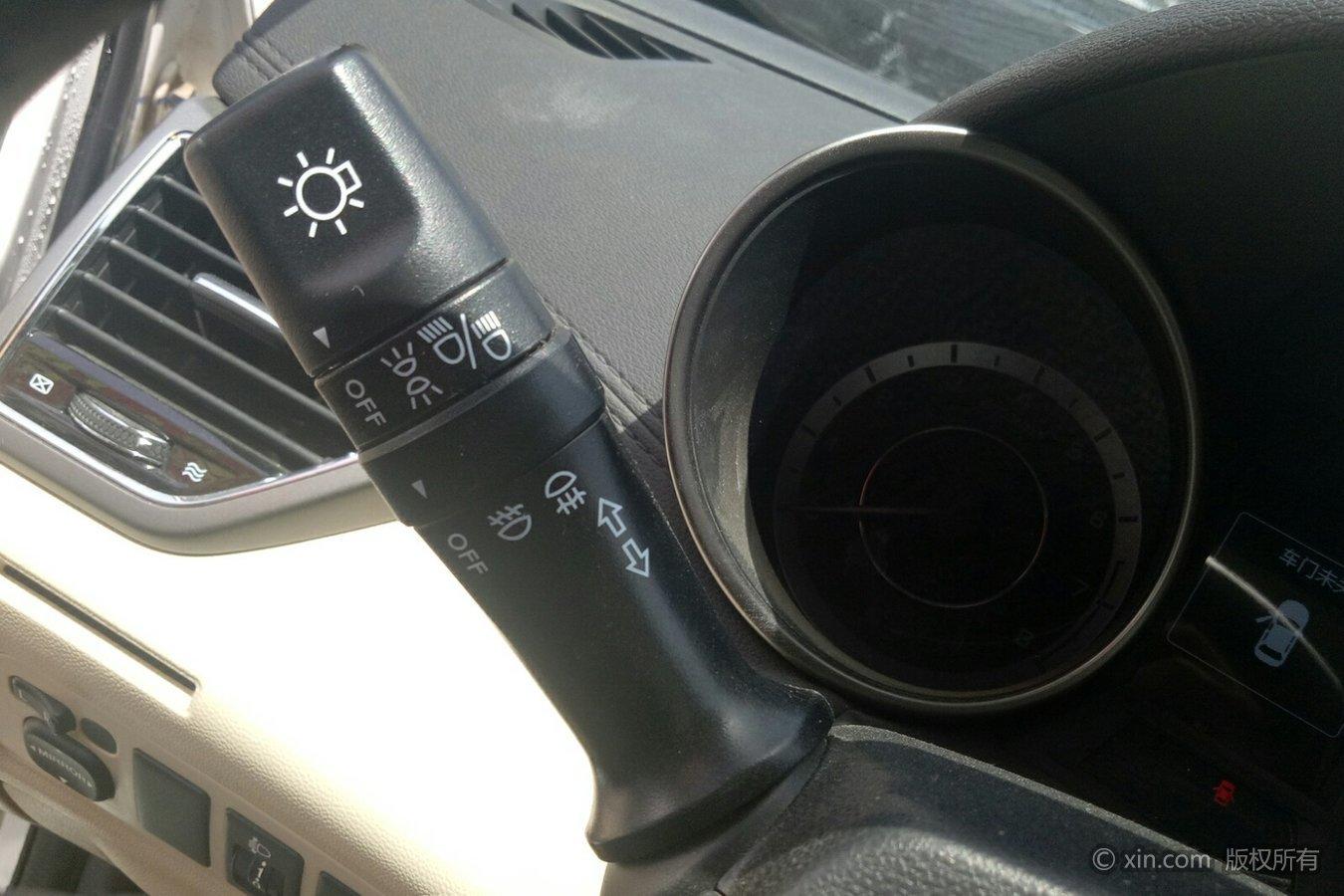 逸动汽车灯光使用图解
