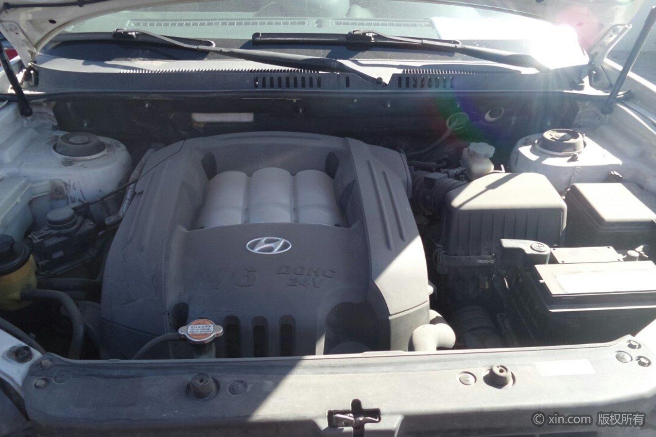 现代圣达菲发动机