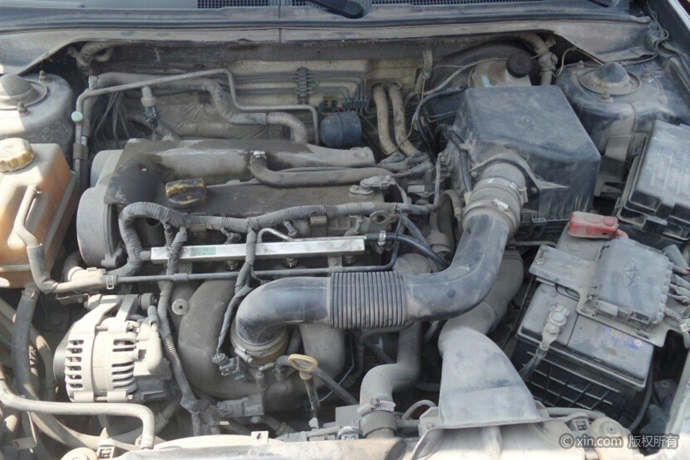 奇瑞A5发动机