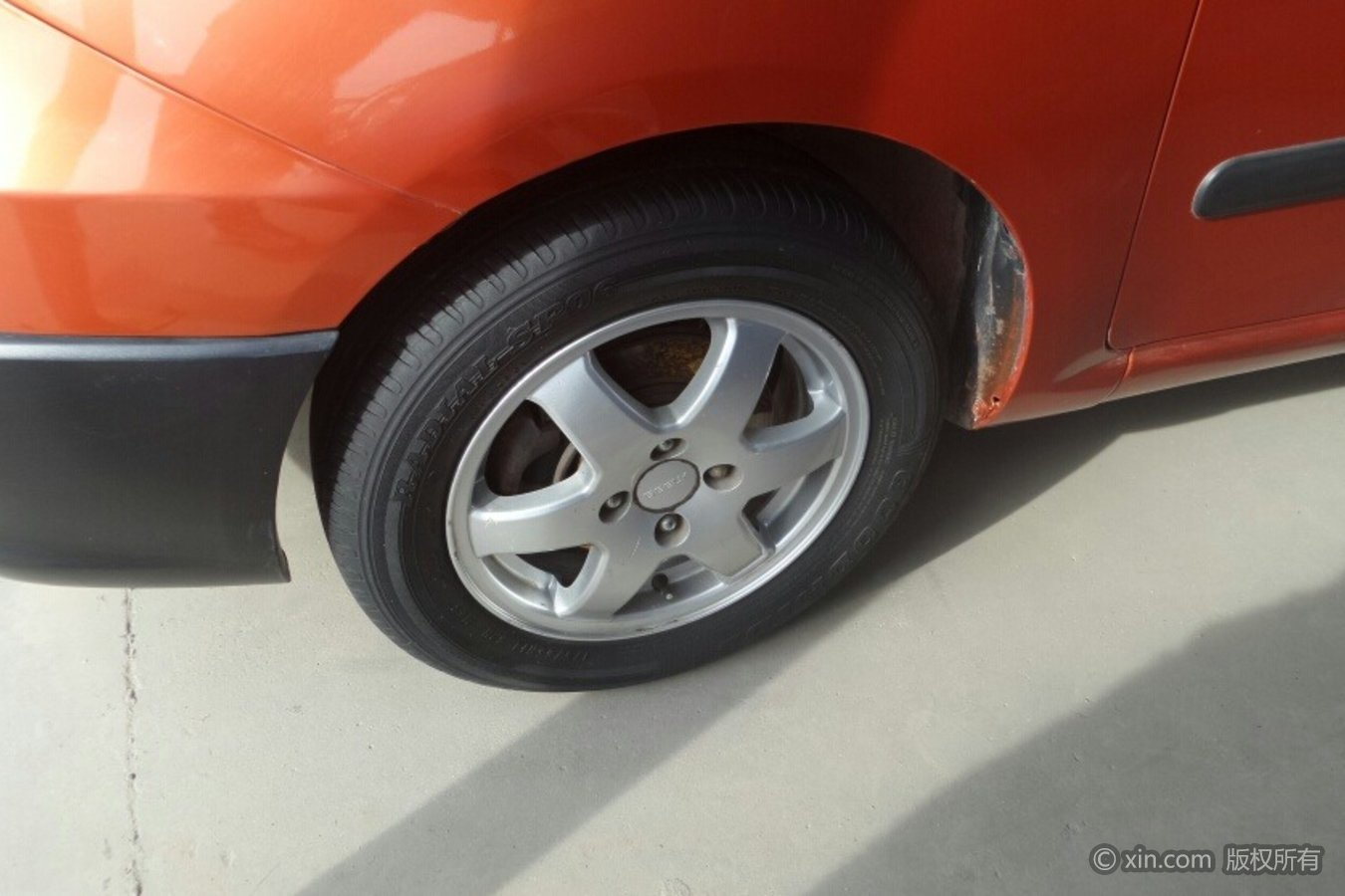 吉利汽车GX2轮毂
