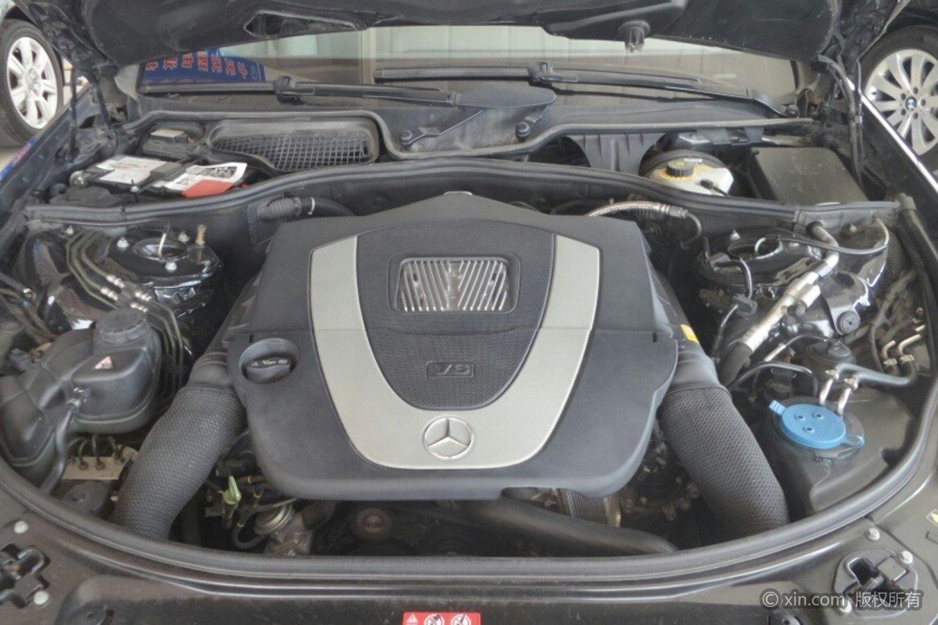 奔驰S级发动机