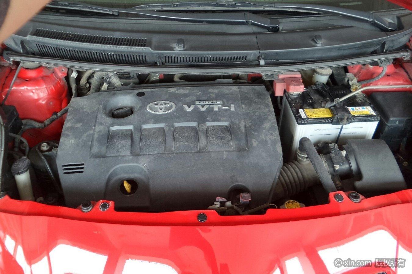 丰田 雅力士 2008款 1.6 自动 g精致型1zr发动机